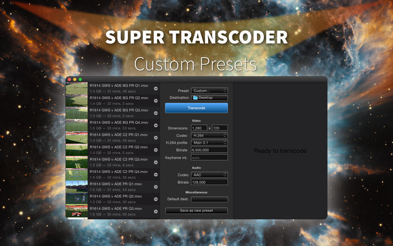 Screenshot 2 for Super Transcoder