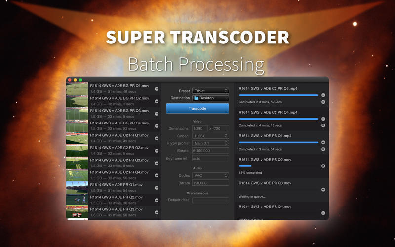 Screenshot 3 for Super Transcoder