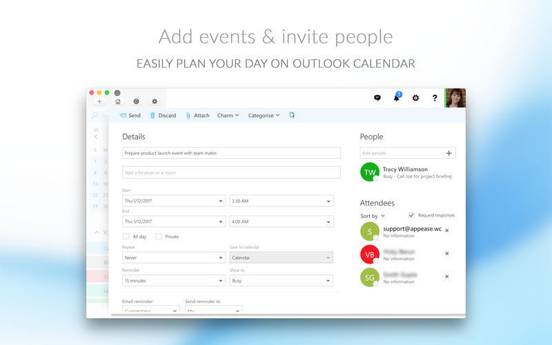 Screenshot 2 for CalendarPro for Outlook