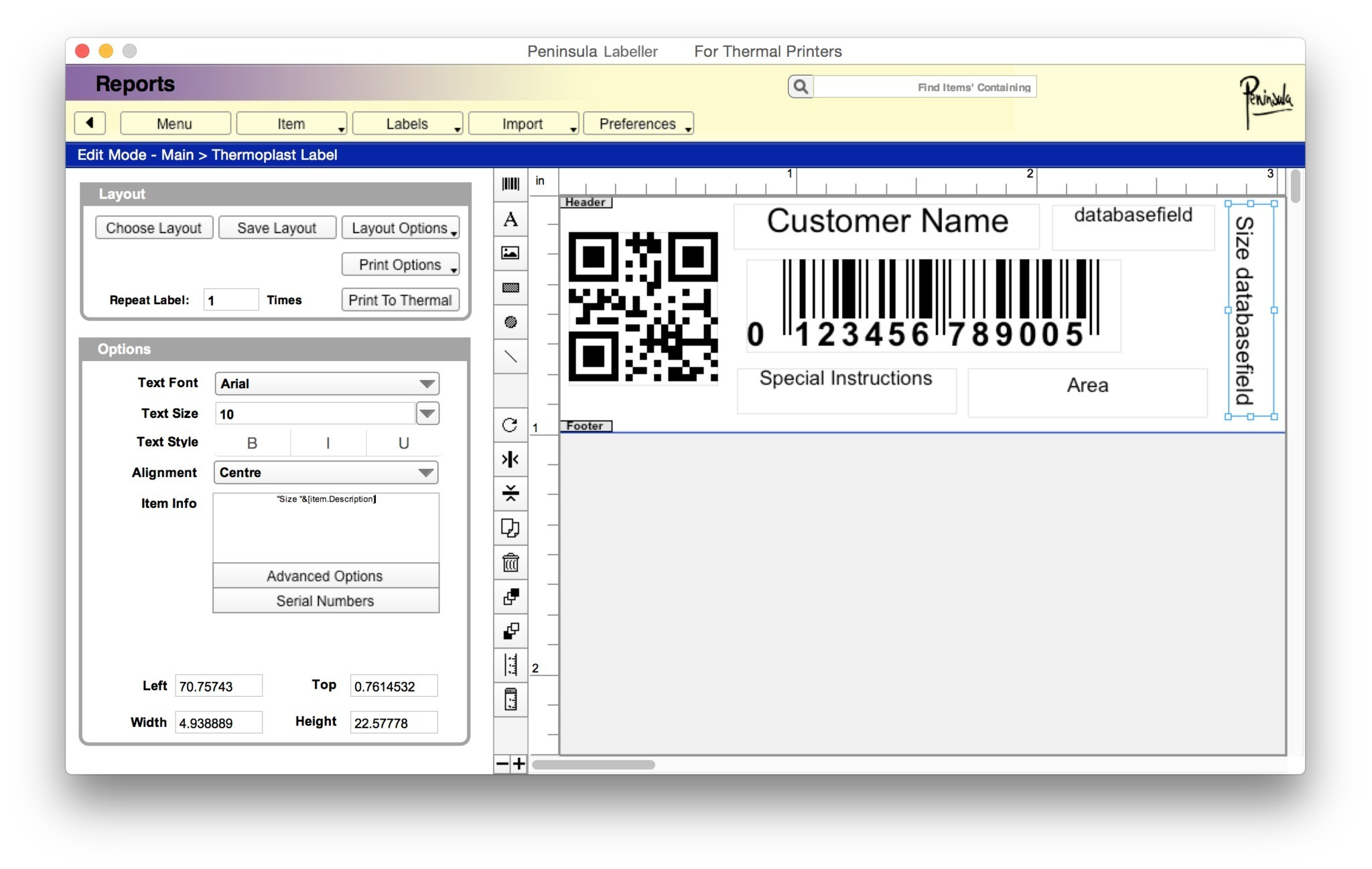 Screenshot 3 for Labeller