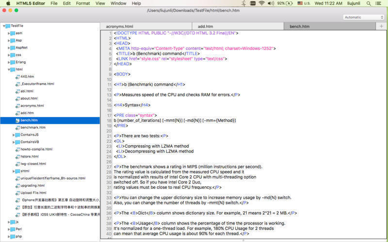 Screenshot 3 for HTML5 Editor