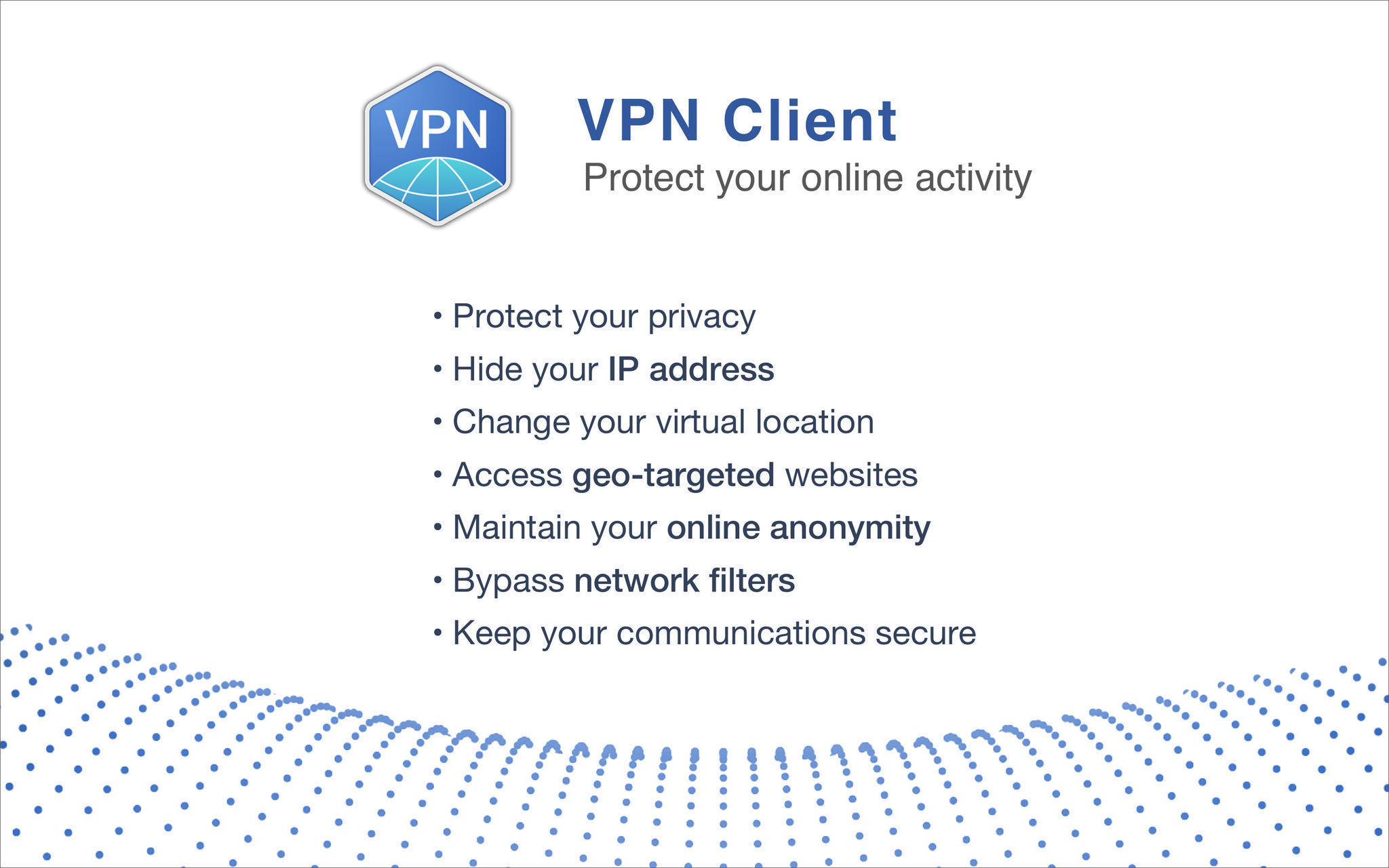 Screenshot 1 for VPN Client