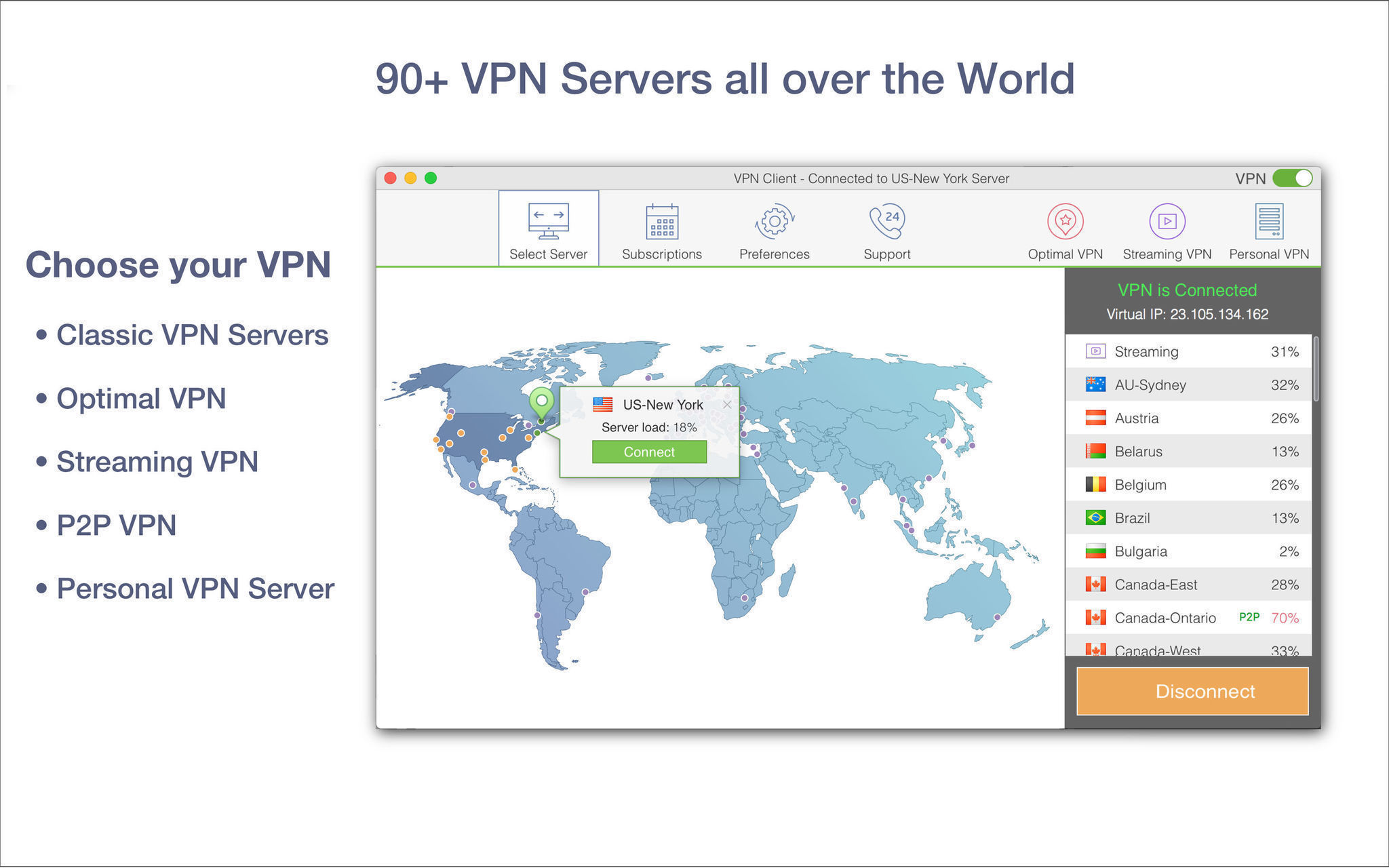 Screenshot 2 for VPN Client