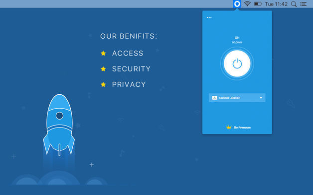 Screenshot 1 for Shield VPN