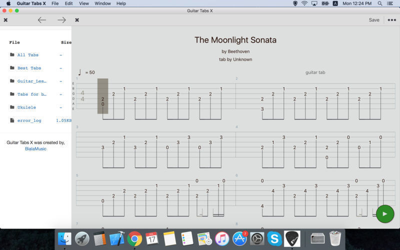 Screenshot 3 for Guitar Tabs X