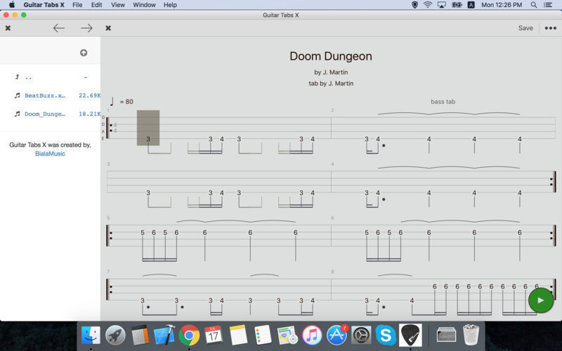 Screenshot 4 for Guitar Tabs X