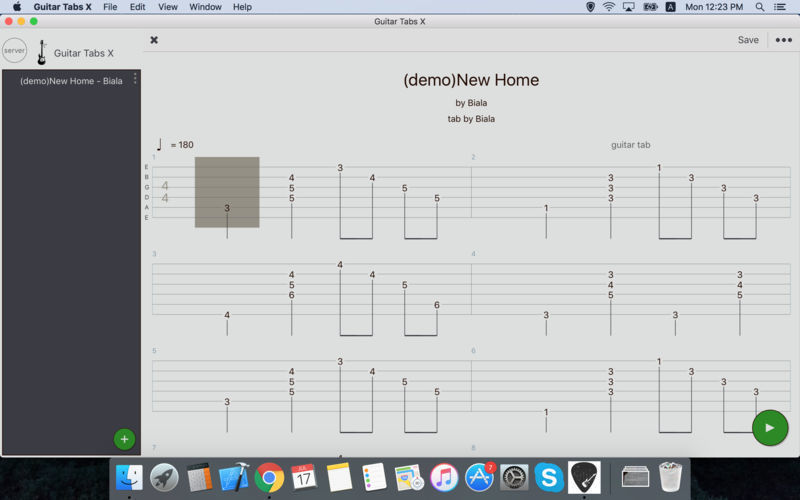 Screenshot 5 for Guitar Tabs X