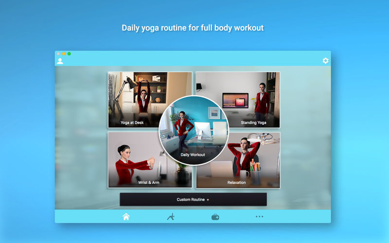 Screenshot 1 for Office Yoga