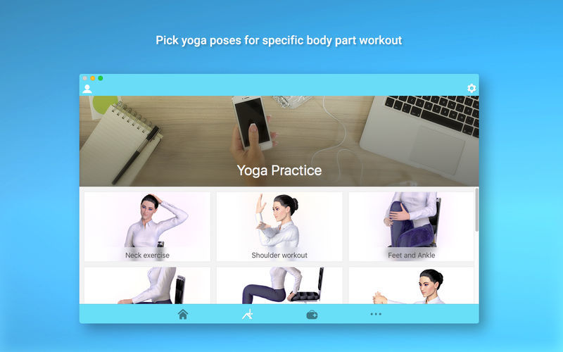 Screenshot 2 for Office Yoga