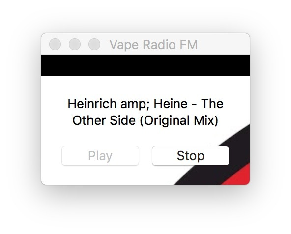 VapeRadioFM for Mac