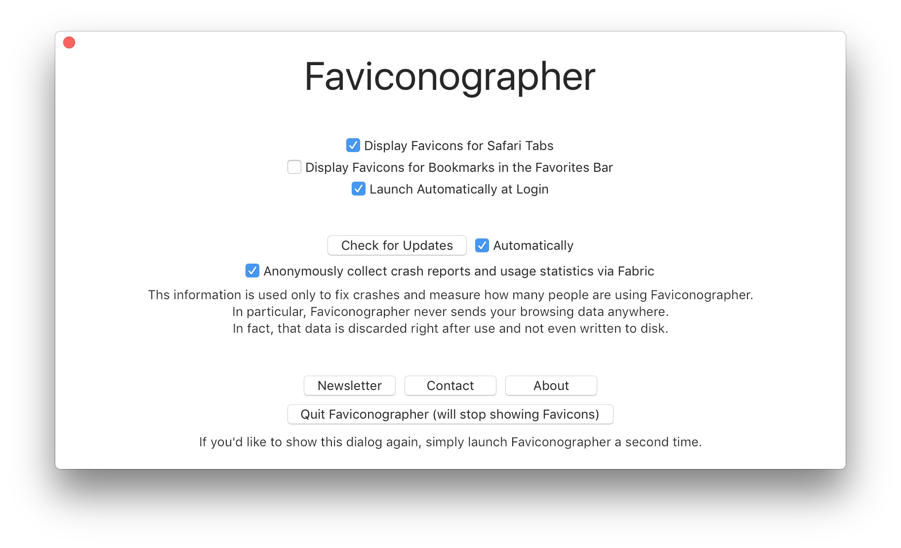 Screenshot 4 for Faviconographer