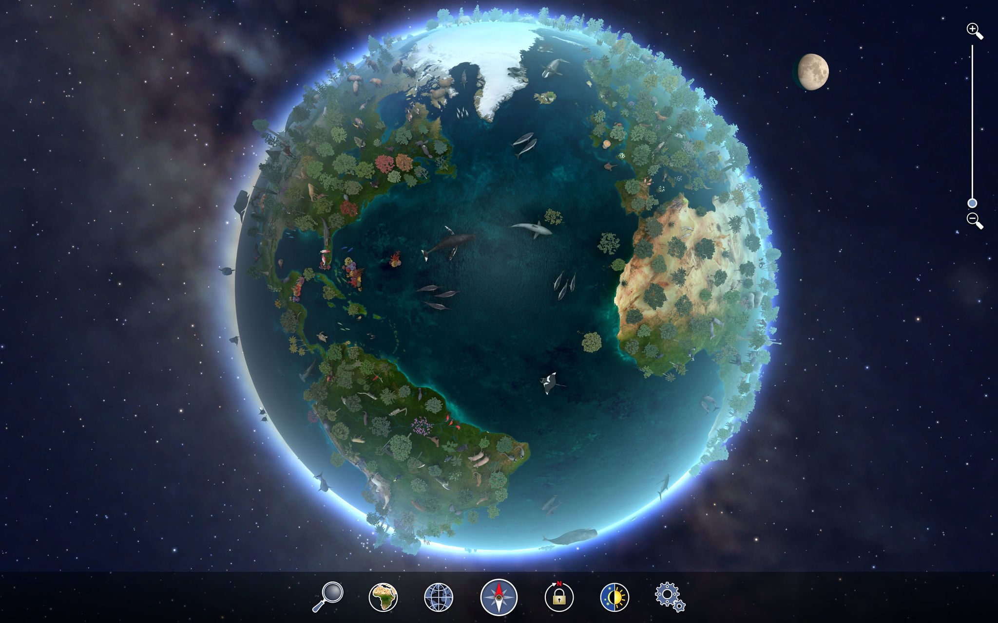 Screenshot 5 for Earth 3D Animal Atlas