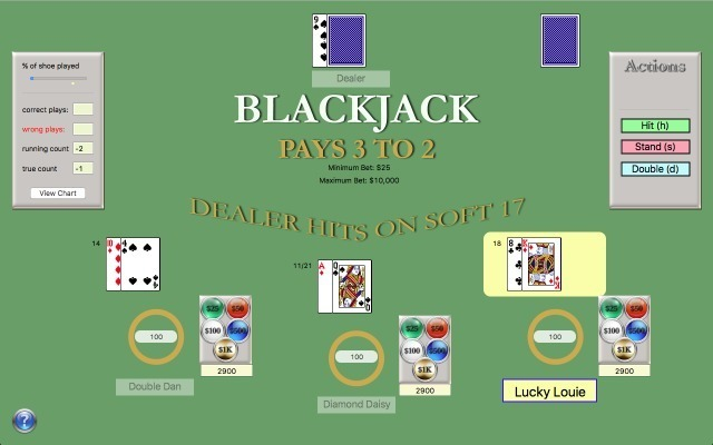 Screenshot 1 for Blackjack Master