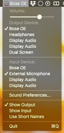 Screenshot 1 for AudioDevice