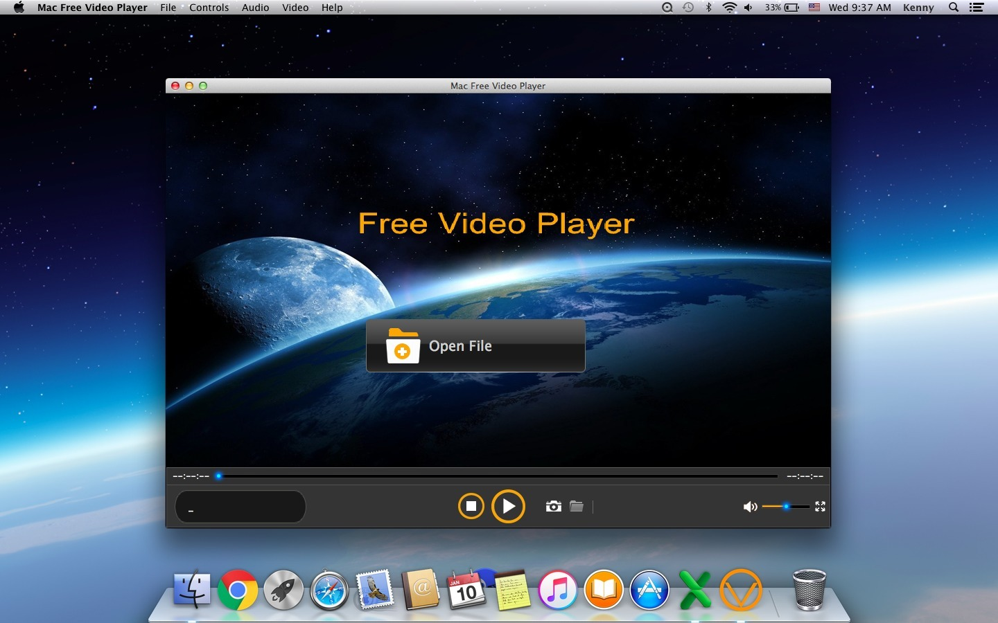Screenshot 1 for Shining Free Video Player