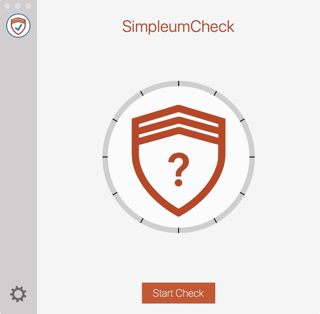 Screenshot 1 for SimpleumCheck