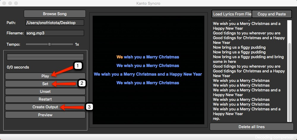 Screenshot 1 for Kanto Syncro Karaoke for Mac