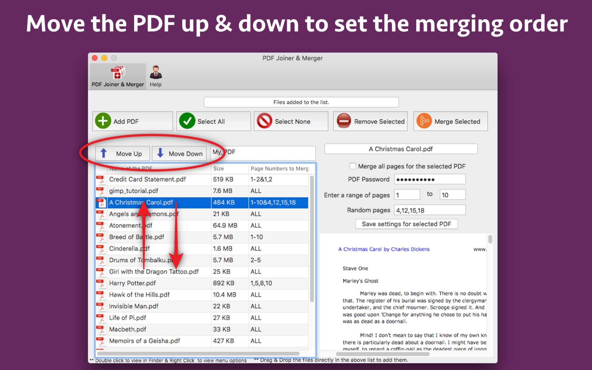 Screenshot 3 for PDF Joiner & Merger
