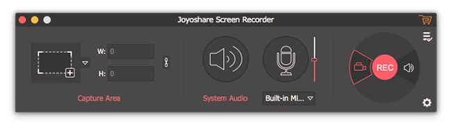 Screenshot 1 for Joyoshare Screen Recorder