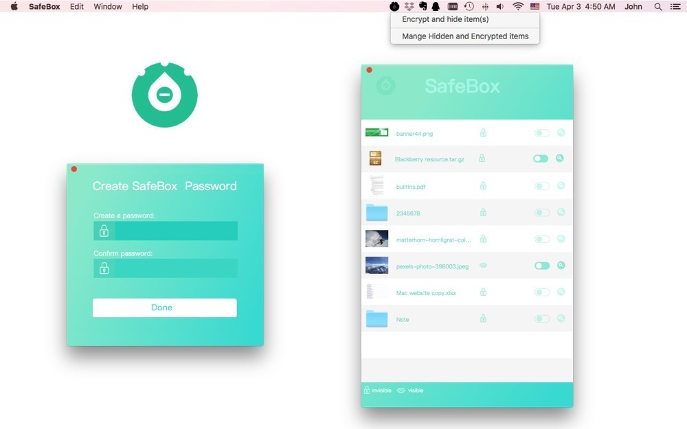 Screenshot 1 for SafeBox