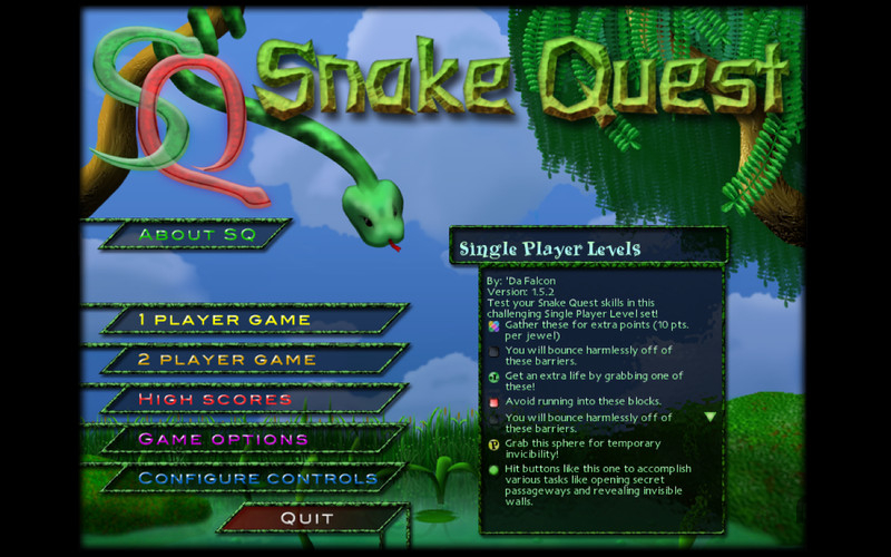 Screenshot 1 for Snake Quest
