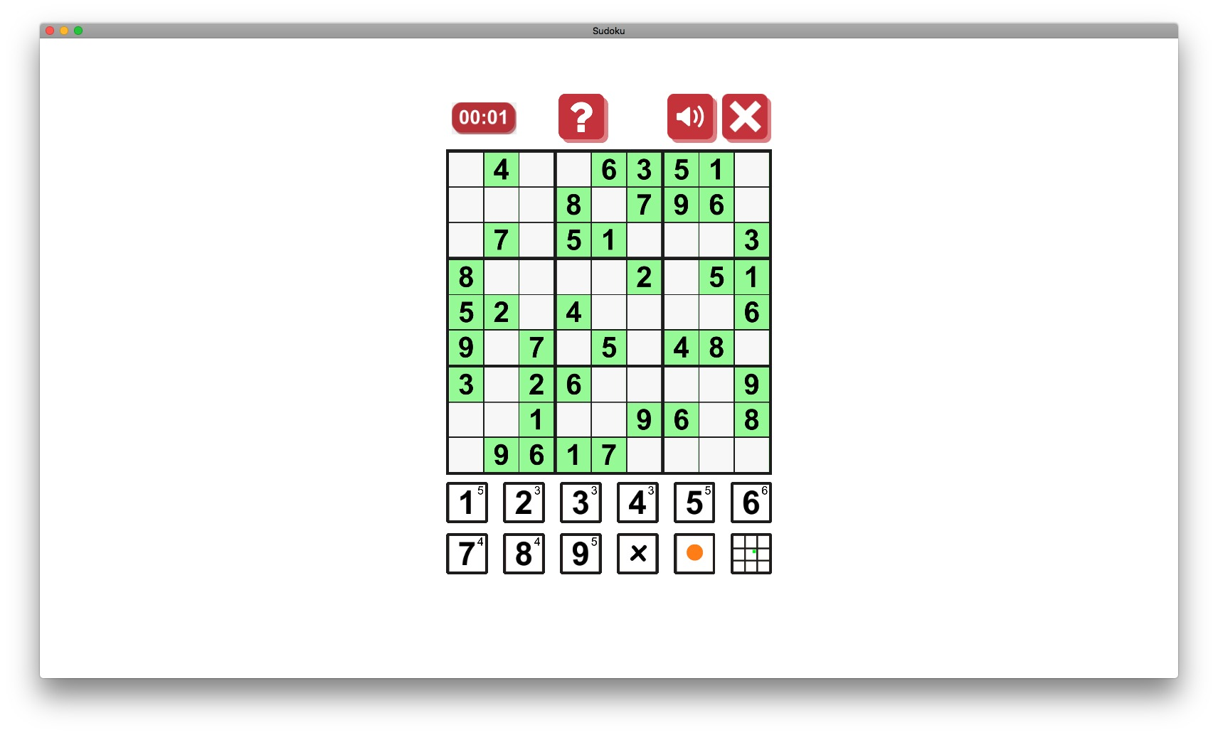 Screenshot 2 for Sudoku Origin