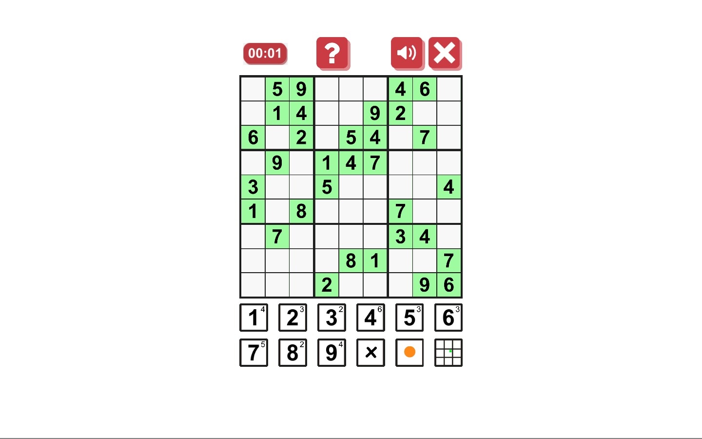 Screenshot 3 for Sudoku Origin