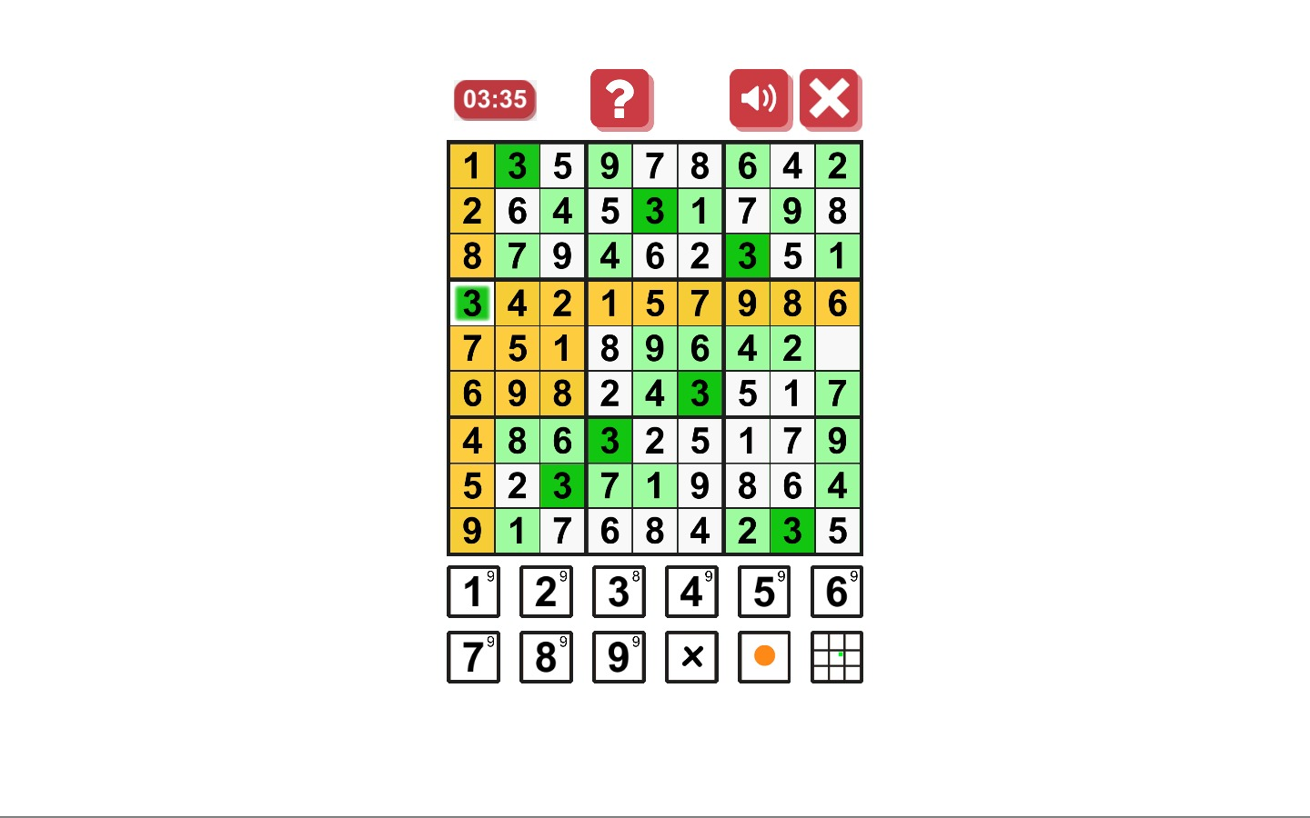 Screenshot 5 for Sudoku Origin