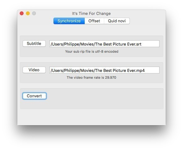 Time For Change 3 3 free download for Mac | MacUpdate