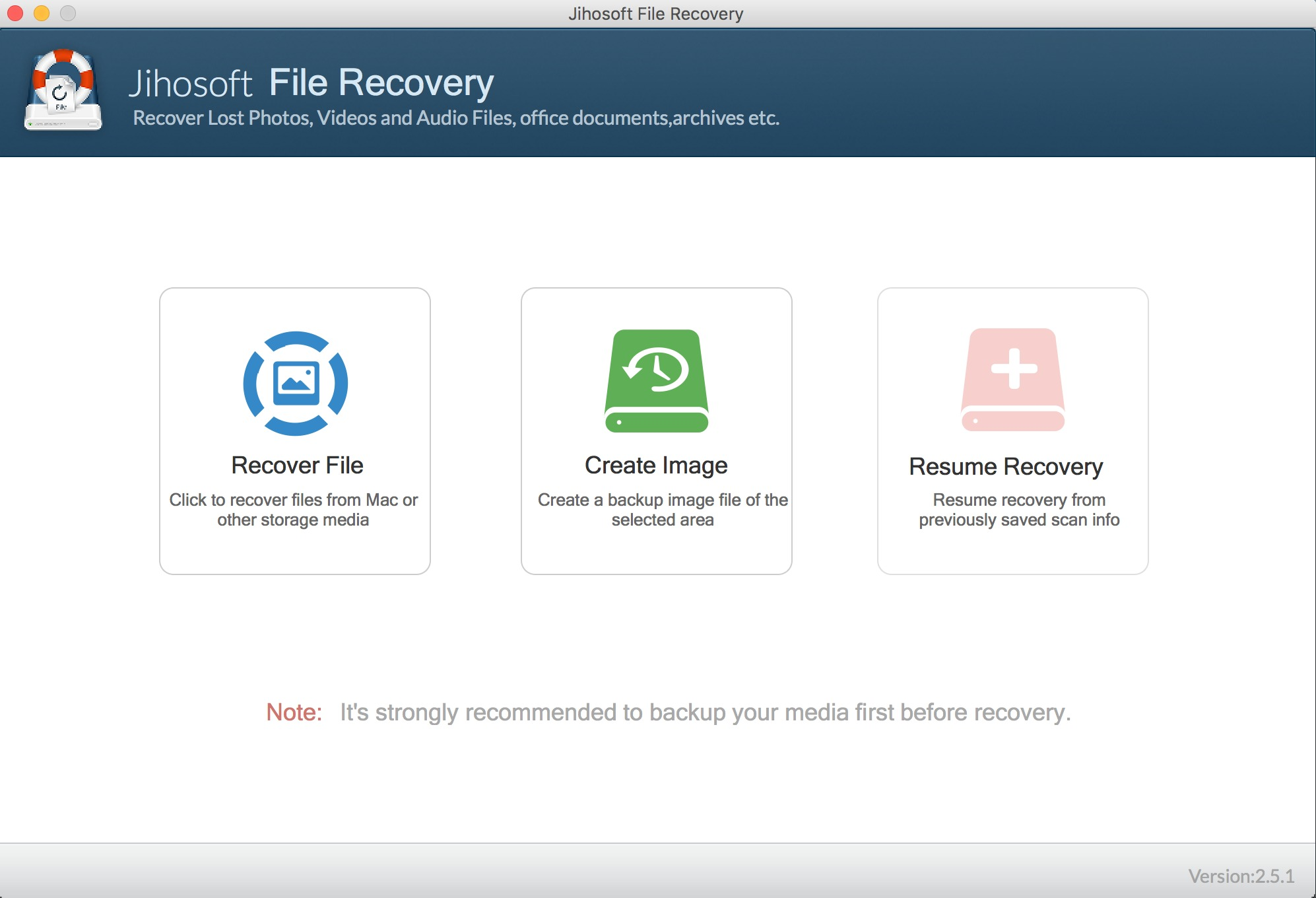 Screenshot 2 for Jihosoft File Recovery