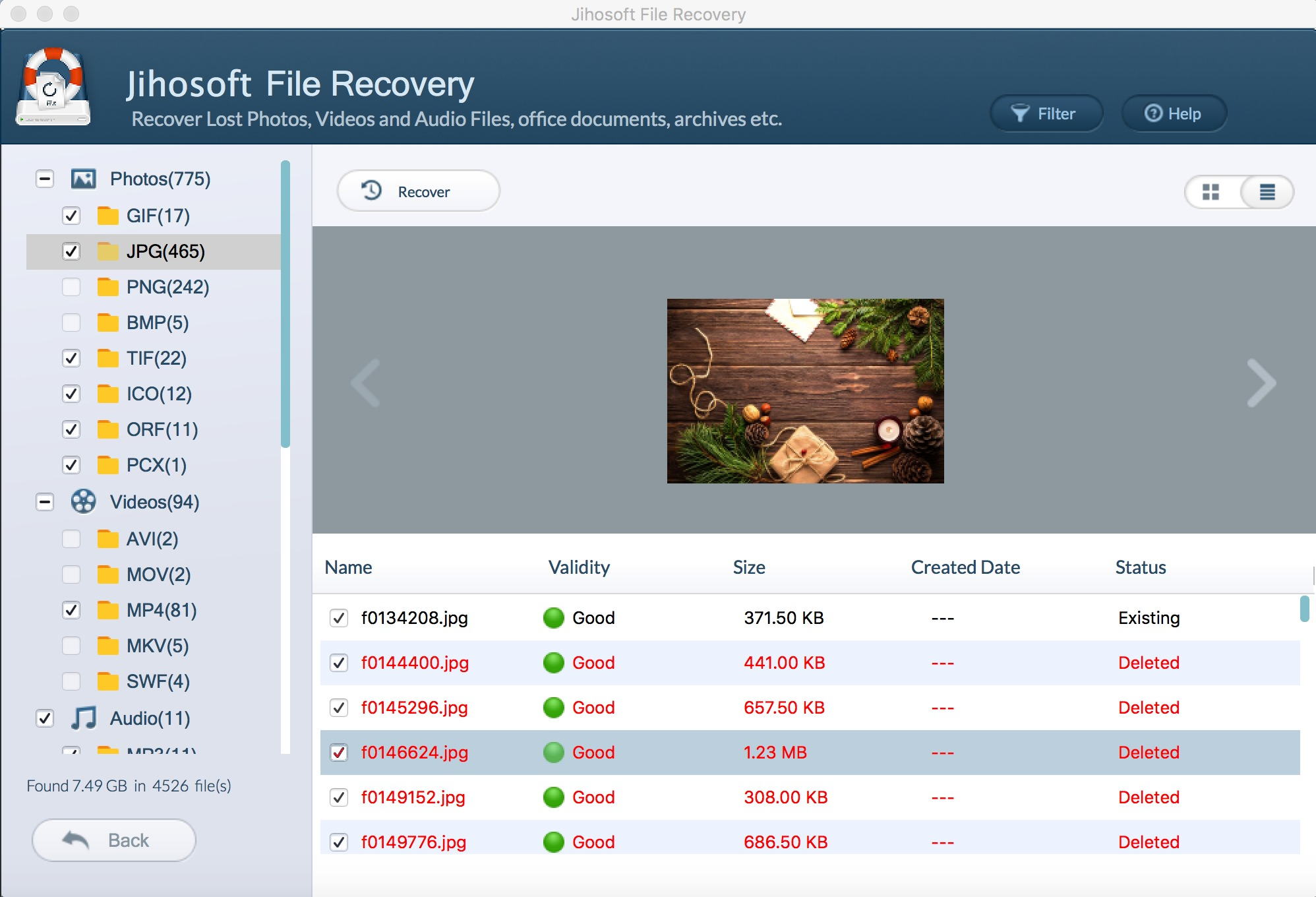 Screenshot 4 for Jihosoft File Recovery