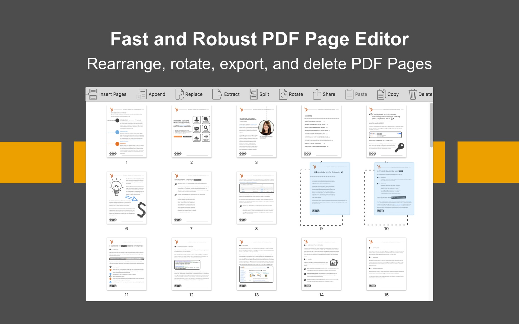Screenshot 1 for PDF Page Editor Pro Edition