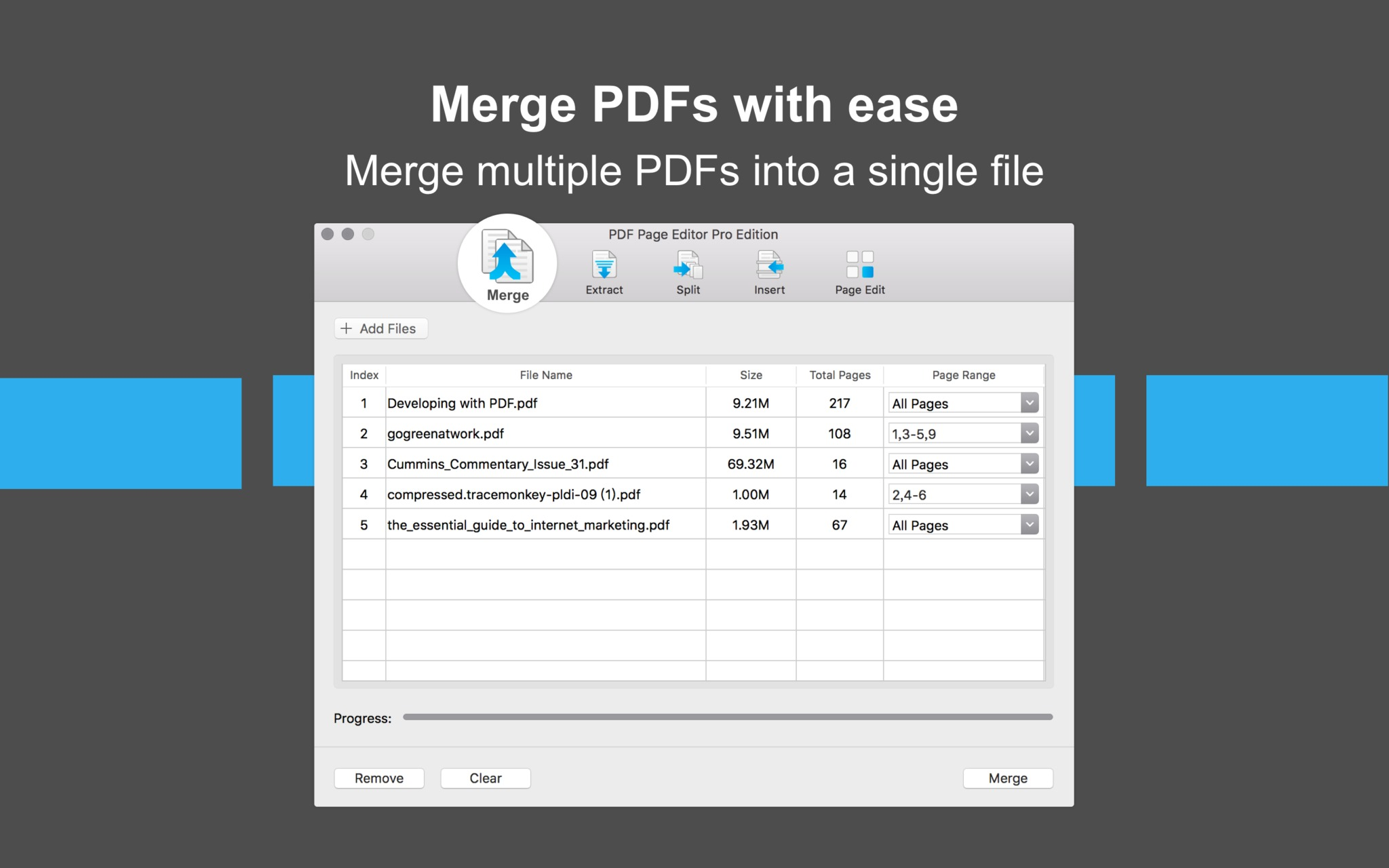 Screenshot 2 for PDF Page Editor Pro Edition
