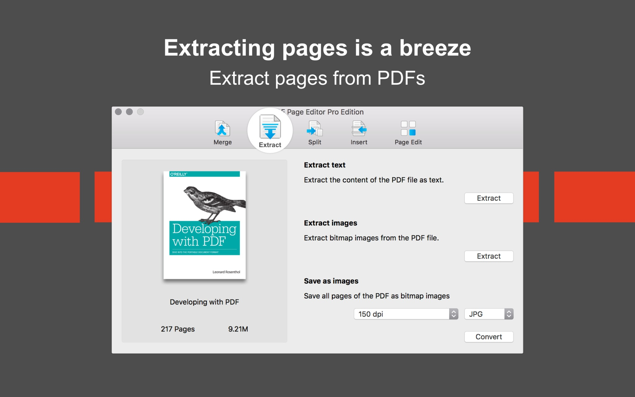 Screenshot 5 for PDF Page Editor Pro Edition