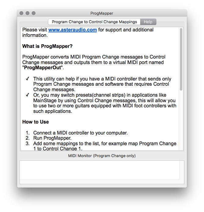 ProgMapper 1 0 free download for Mac | MacUpdate