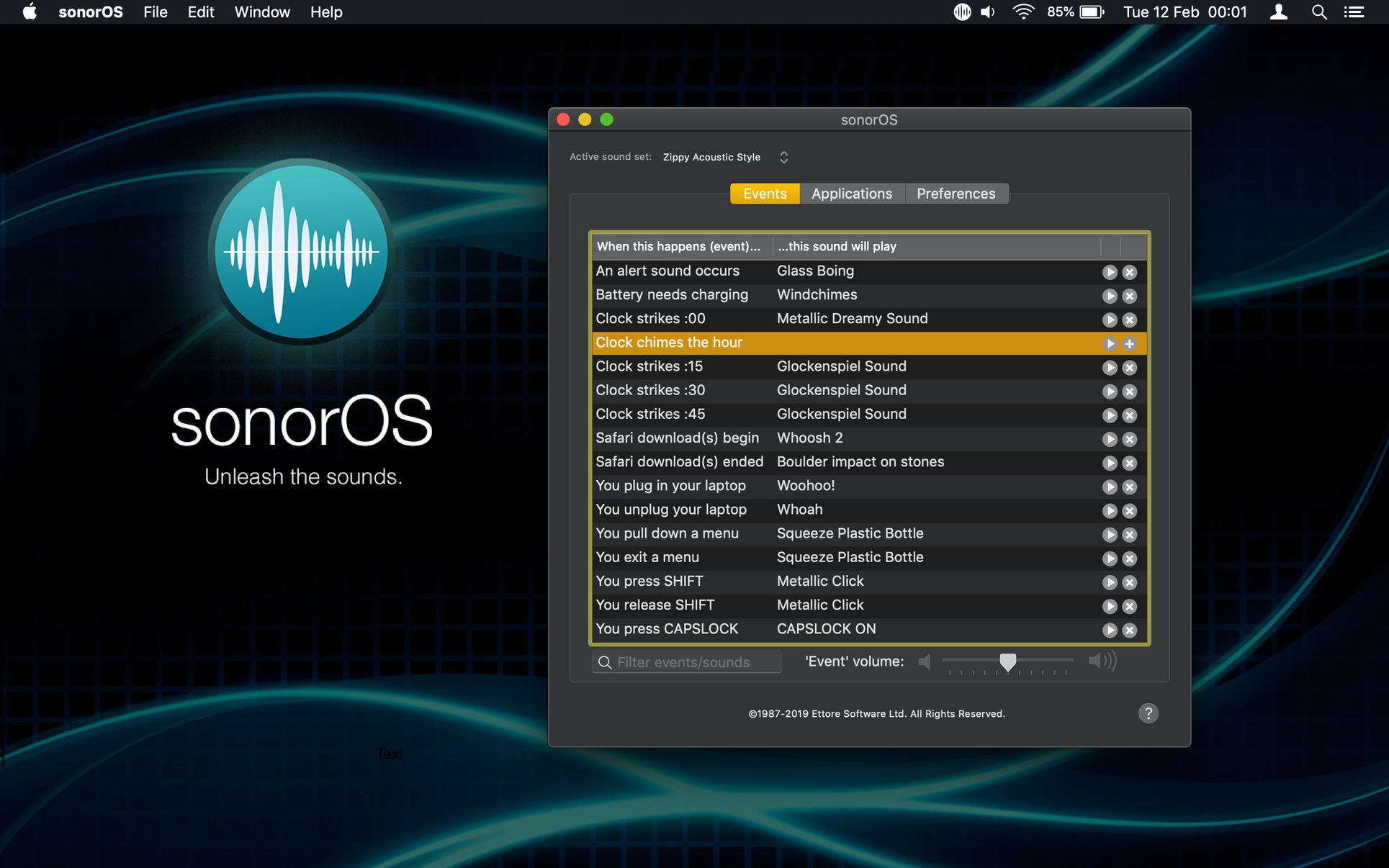 Screenshot 1 for sonorOS