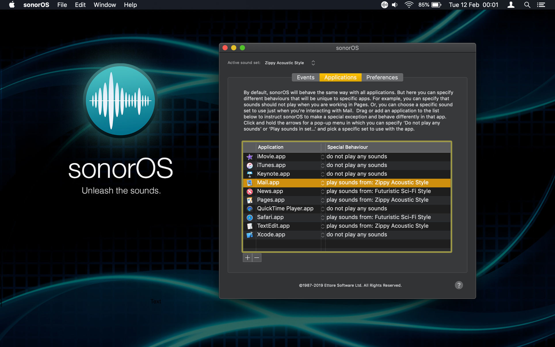 Screenshot 2 for sonorOS