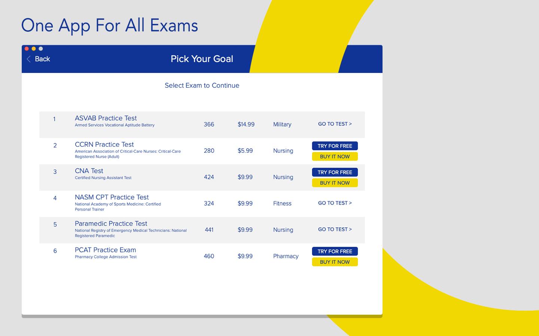 Better Exam Prep for Mac