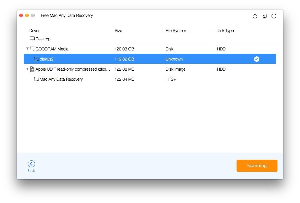 Screenshot 2 for Any Data Recovery Pro