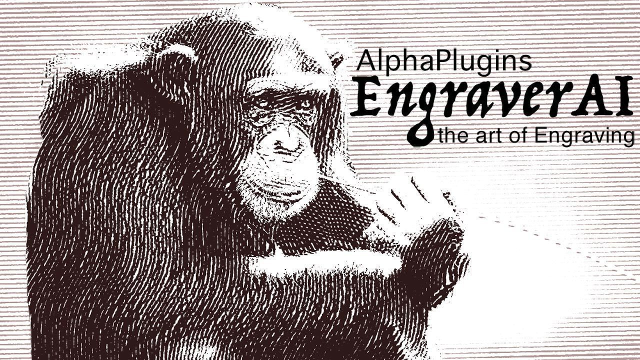 Screenshot 1 for AlphaPlugins EngraverAI