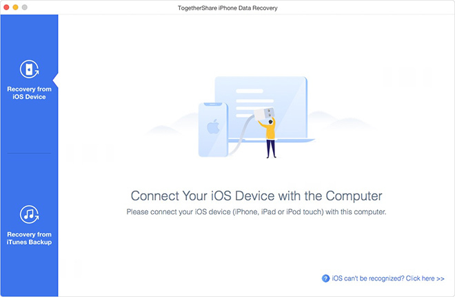 TogetherShare iPhone Data Recovery for Mac