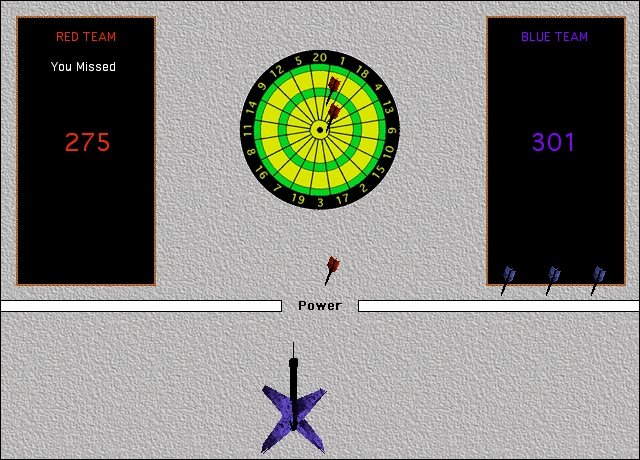 Screenshot 1 for Dart Board