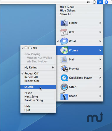 Screenshot 1 for Application Switcher Menu