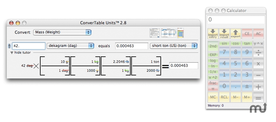 Screenshot 1 for ConverTable Units
