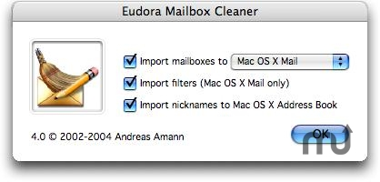 Screenshot 1 for Eudora Mailbox Cleaner