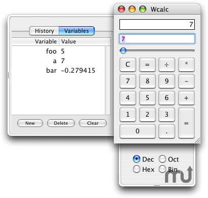 Screenshot 1 for Wcalc