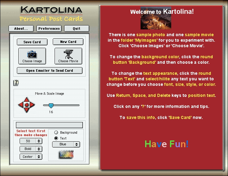 Screenshot 1 for Kartolina Movie X