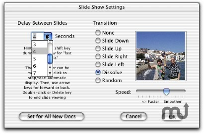 Screenshot 1 for iPhoto to PhotoToWeb