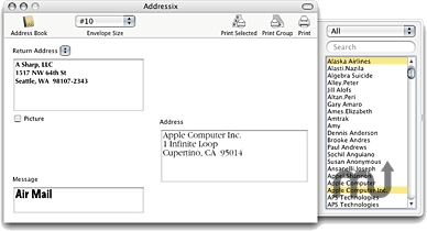 Screenshot 1 for Addressix
