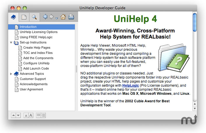 Screenshot 1 for UniHelp